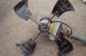 Hoe te-windturbine gemaakt van schroot...