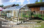 Eenvoudige tuin automatisering met een stapel Open Hardware