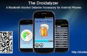 De Droidalyzer - een open source, Bluetooth alcohol detector accessoire voor Android-telefoons