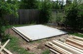 Hoe het bouwen van een duurzame opslag schuur