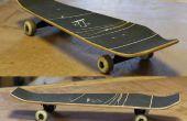 Knippen, lay-out en afwerking een Skateboard