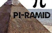Bouwen van Mini piramide gebaseerd op Pi