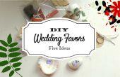 DIY goedkoop en creatieve huwelijksgunsten