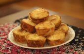Feta en filodeeg deeg Muffins