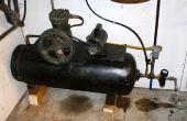 100 lb propaan Tank zelfgemaakte Air Compressor