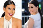 Hoe maak je een gladde paardenstaart (Kim Kardashian)