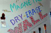 Magnetische droog wissen muur!