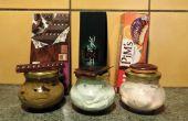 Slagroom body butters: chocolade, na acht en Pim van gebak geïnspireerd