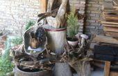 Hoe maak je een geweldige tuin landschap met een decoratieve waterval
