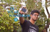 5 $ zonne-energie bank van gerecycleerd laptop accu