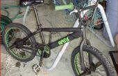Hoe te schilderen van een BMX fiets