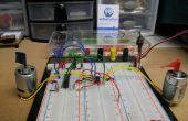 Dual Motor Driver met Arduino met behulp van een SN754410NE Quad halve H-Bridge