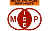 Met behulp van de MPIDE Board-Defs