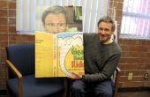 Poster meer dan levensgrote-bevordering van boeken en lezen
