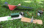 Gemotoriseerde kite string winder! -een stuk van de rommel die werkt