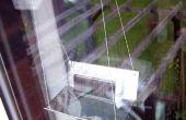 Zonne-lader raam