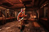 Gladiator Kegicus kostuum, Spartacus dronken broer.