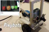 Pixybot kleur bijhouden van Robots