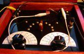 Bouwen van een antieke stijl kristal radio