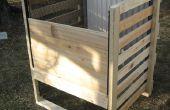 Hout Frame Compost Bin