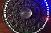 Stargate geïnspireerd Arduino NeoPixel 3D gedrukte klok
