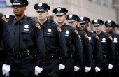 Gids voor steeds een politieagent