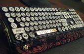 Het luchtschip kapitein MK-I(yet another steampunk keyboard)