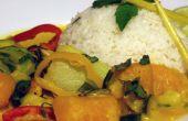 Eenvoudig pompoen Curry recept