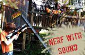 NERF Blaster met geluid FX