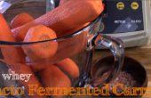 Geen Wei Lacto-gefermenteerde geraspte wortelen