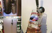 De vat-O-Rator: Een adaptieve hergebruik van een Mini koelkast in een Kegerator