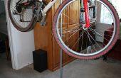 DIY fiets repareren staan