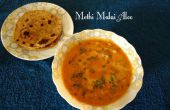 Methi Malai Aloo (aardappel in fenegriek en crème)