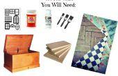 Hoop borst Dollhouse en DIY meubels!