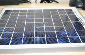Batterij minder krachtige zonne-lader