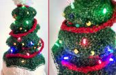 Licht-Up kerstboom Hat