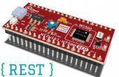 REST gebaseerde Web Services toe te voegen aan IoT apparaat voor het toezicht op IO