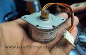 Testen van een stappenmotor zonder een Multimeter