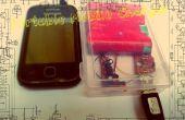 Draagbare mobiele lader (zonne-) van schroot