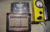 Zelfgemaakte SBM-20 gamma detector matrix