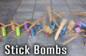 Stok bommen (exploderende kinetische kunst)