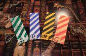 DIY: Harry Potter Bookmarks (huizen van Zweinstein)