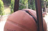Upcycled basketbal tas