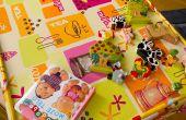 Hoe maak je een kunst tafellaken voor kleine kinderen