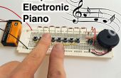 Eenvoudige elektronische Piano
