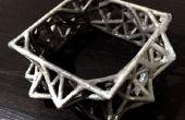 Galvaniseren 3D afgedrukt sieraden