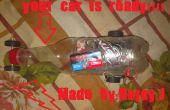 Hoe maak je een eenvoudige auto met fles