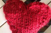 Hoe te breien een Valentines hart