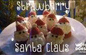 Aardbei Santa Claus - DIY Tutorial