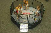 Magnetische UFC Ring met swingende deur (gemaakt van K'nexs)